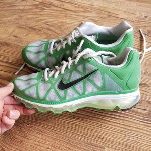 Nike Fitsole 2 Airmax Green Tennis Shoe